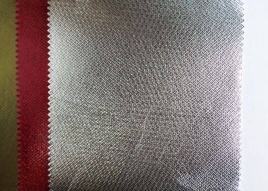 Shining Surface Laminated PP Non Woven Fabric with Metalized Gold & Aluminum Film